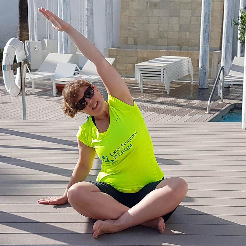 Carol Boughton Pilates instructor - Pilates Classes Horsham Crawley Colgate Faygate